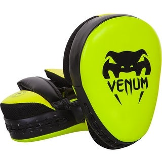 Venum Cellular 2.0 Punch Mitts - Neo Yellow
