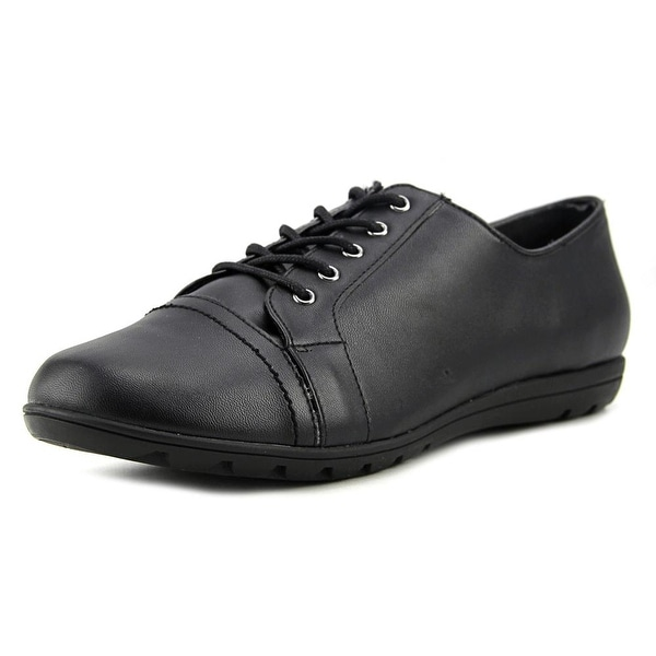 Soft Style by Hush Puppies Valda Women W Round Toe Leather Oxford
