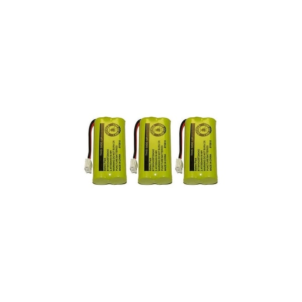 Replacement Battery for VTech 6010 / 3101 / DS6121 Phone Models (3 Pack)