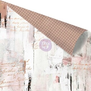 """Amelia Rose Rose Gold Foiled Double-Sided Cardstock 12""""X12""""-Texture Lover"""