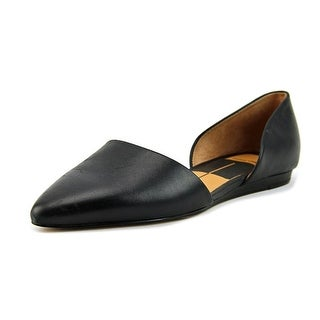 Dolce Vita Apola Women  Pointed Toe Leather Black Flats