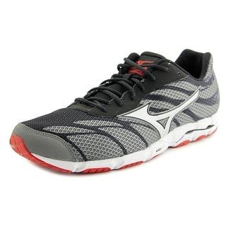 Mizuno Wave Hitogami 3 Men  Round Toe Synthetic Gray Running Shoe