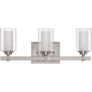 Craftmade 167203 Celeste 3 Light Bathroom Vanity Light   19.5 Inches Wide  (2 Options Available