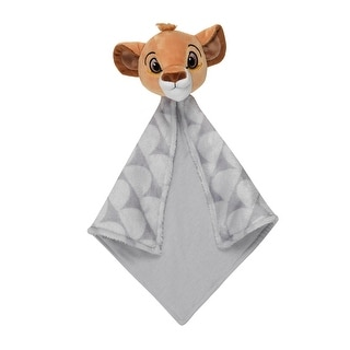 Lambs & Ivy Disney Baby THE LION KING Lovey Gray Plush Security Blanket