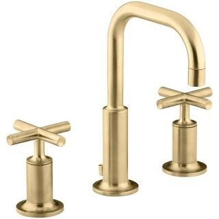 Kohler K 14406 3 Purist Widespread Bathroom Faucet With Ultra Glide Valve  Technology