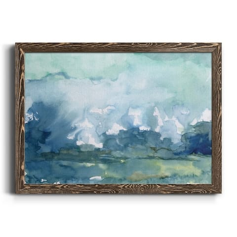 Distant Rain-Premium Framed Canvas - Ready to Hang