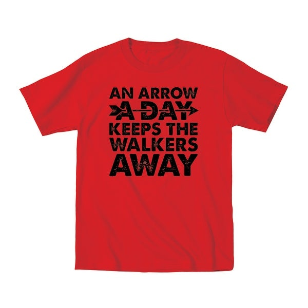 d2269008 Shop An Arrow A Day Zombie Daryl Dixon Horror Novelty Walkers Funny Mens  T-Shirt - Free Shipping On Orders Over $45 - Overstock - 24328128
