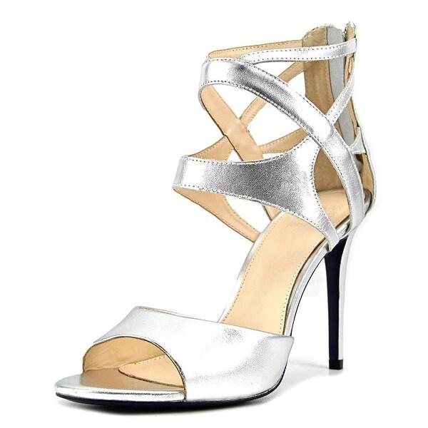 Hardy Chelsea Women Open Toe Synthetic Silver Sandals