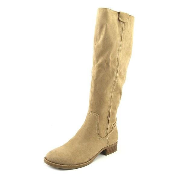 Indigo Rd. Chuckie Women Round Toe Suede Tan Mid Calf Boot