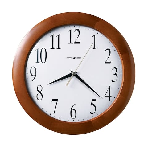 Howard Miller Corporate Classic, Modern, Transitional Wall Clock with Large Numbers, Reloj De Pared