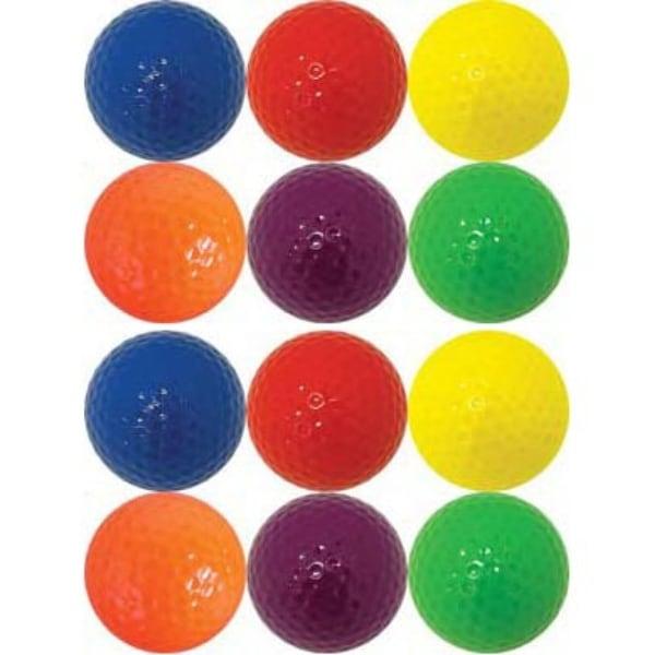Shop 1 Dozen Colored Golf Balls - 2 each color - Free ...