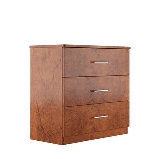 Milford Solid Wood Chestnut 3 Drawer Chest On Sale Overstock 31323799