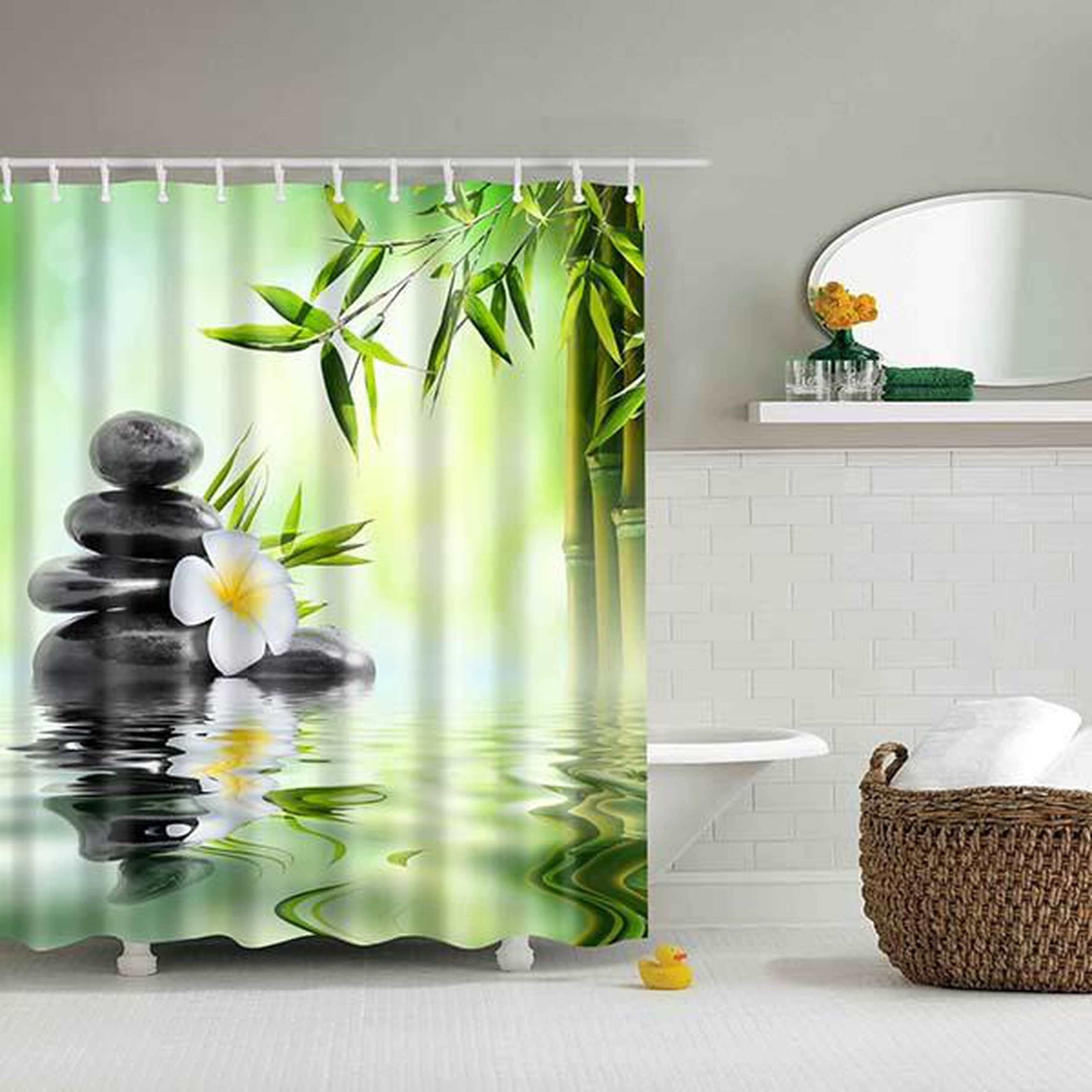 Shop Black Friday Deals On Bathroom Shower Curtains 3d Decor Nautical Shower Curtain Overstock 25414585