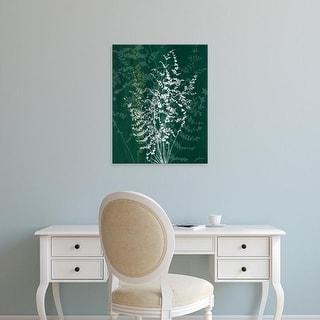 Easy Art Prints James Burghardt's 'Jewel Ferns II' Premium Canvas Art