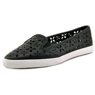 Michael Michael Kors Olive Slip On Pointed Toe Leather Flats