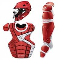Easton Intermediate M10 Catchers Set Leg Guards Chest Protector & Helmet-A165340