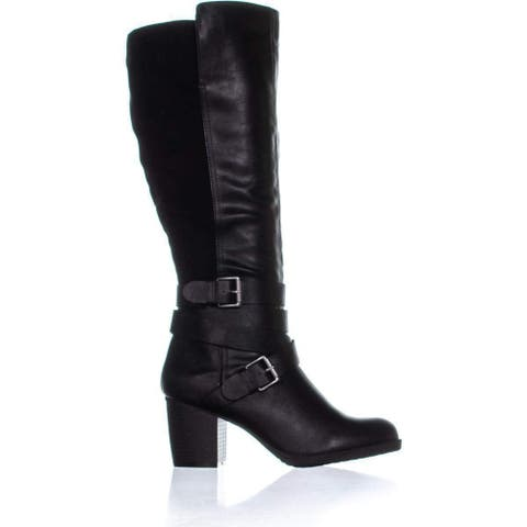 Style & Co. Women's Shoes Jomaris Closed Toe Knee High Fashion Boots