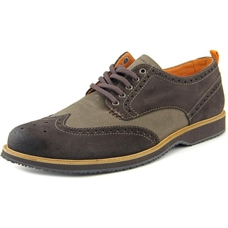 Tommy Bahama Elliot Men Wingtip Toe Suede Oxford