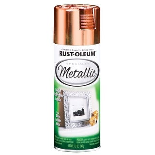 Rust-Oleum 1937830 Metallic Spray Paint, Copper, 11 Oz.