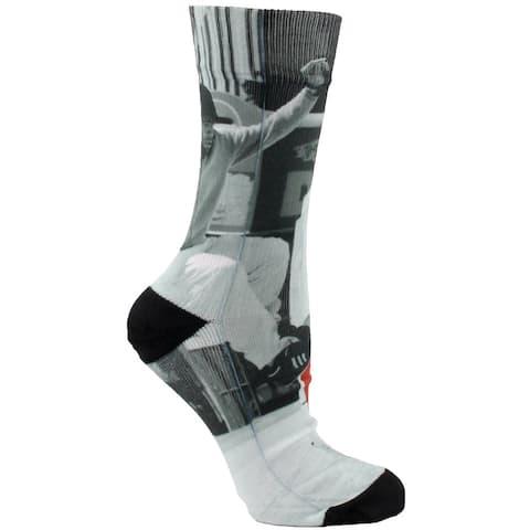 adidas Gonz Sublimated Crew Socks Mens Socks Athletic Socks - White - L