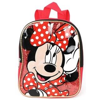 Disney Girls Minnie Mouse Mini 10'' Backpack