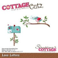 "Love Letters; 1.7"" To 4.3"" - Cottagecutz Die"