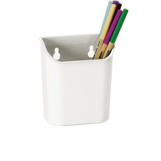 Officemate 1494033 Magnet Plus Magnetic Pencil Cup - White