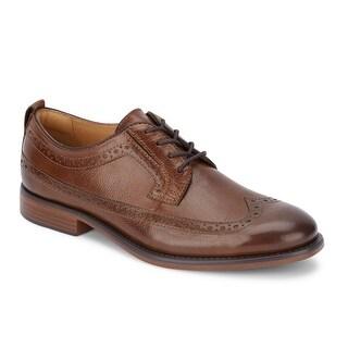 Dockers Mens Hausman Leather Dress Wingtip Oxford Shoe