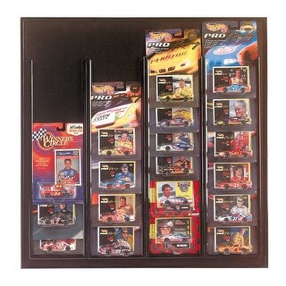 Car Miniatures Car Display Black for Race Champ