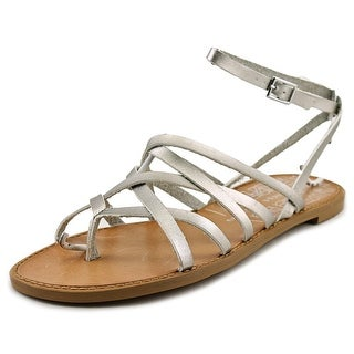 Chinese Laundry Gia Open Toe Patent Leather Gladiator Sandal