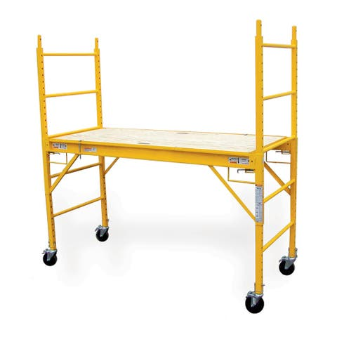 Offex 6-Foot Multipurpose Scaffolding - Yellow