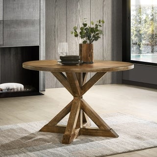 Link to Windvale Cross-Buck Base Dining Table Similar Items in Dining Room & Bar Furniture