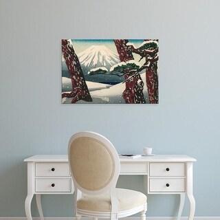 Easy Art Prints Unknown's 'Iconic Japan II' Premium Canvas Art