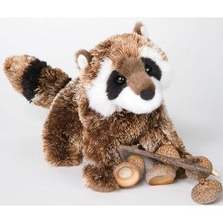 "Douglas 7"" Plush Animal Patch Raccoon - multi"
