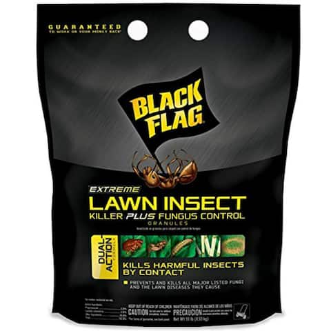 Black Flag HG-11112 Extreme Lawn Insect Killer/Fungus Control, Granules, 10 Lb