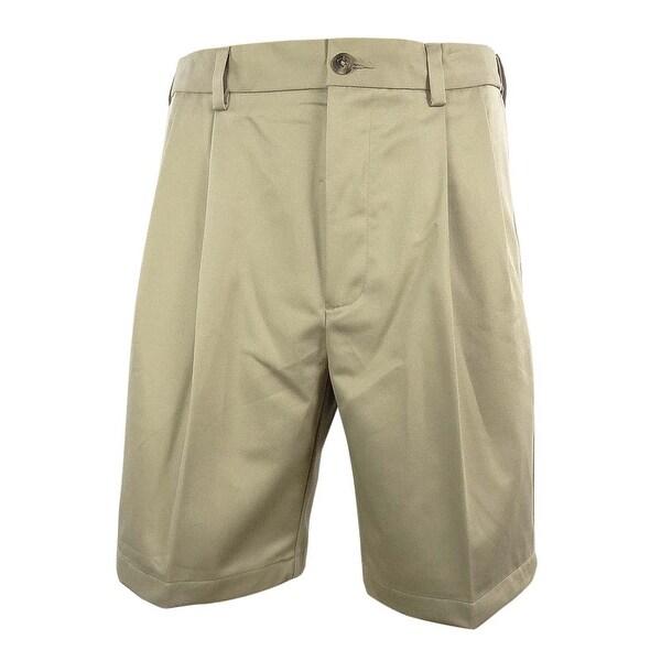 Roundtree & Yorke Men's Big & Tall Pleated Dress Shorts - 52 big