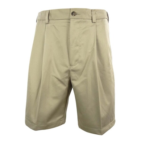 Shop Roundtree Amp Yorke Men S Big Amp Tall Pleated Shorts