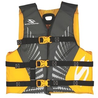 Coleman Stearns Nylon Youth Antimicrobial Life Vest Gold 2000013968