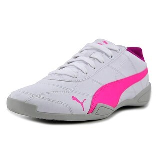 Puma Tune Cat 3 Jr Youth Round Toe Synthetic White Sneakers