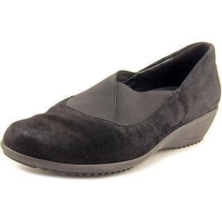 Ara Lael Round Toe Suede Loafer