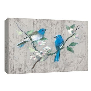 """PTM Images 9-148184  PTM Canvas Collection 8"""" x 10"""" - """"Song of Spring I"""" Giclee Birds Art Print on Canvas"""