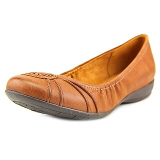 Naturalizer Ginger N/S Round Toe Leather Flats