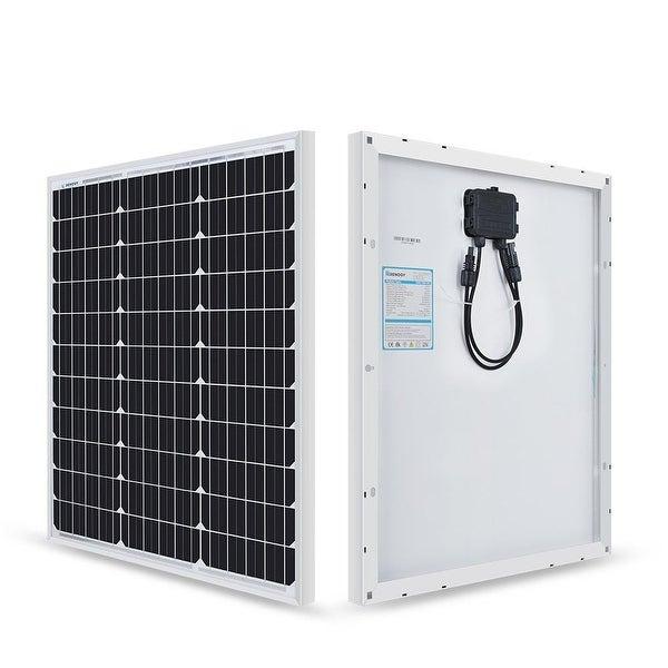 Renogy 50 Watt 12 Volt Monocrystalline Solar Panel (New Edition). Opens flyout.