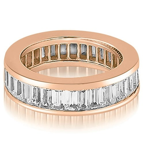 3.00 cttw. 14K Rose Gold Baguette Diamond Eternity Ring