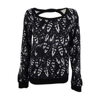 Jessica Simpson Women's Cut Out Back Sweatshirt