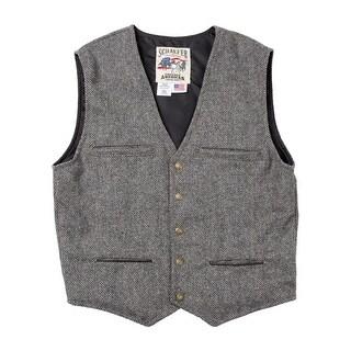 Schaefer Western Vest Mens McKenzie Merino Melton Wool Durable 828