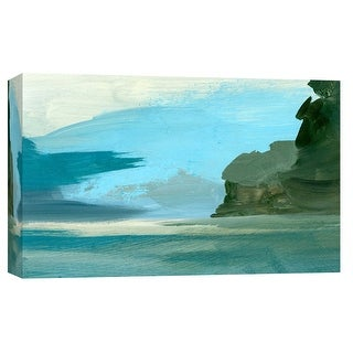 """PTM Images 9-103692  PTM Canvas Collection 8"""" x 10"""" - """"Coastal Seascapes B"""" Giclee Abstract Art Print on Canvas"""