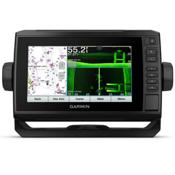 Garmin ECHOMAP 74sv UHD 7 Inch Chartplotter With GT54UHD-TM Transducer. Opens flyout.