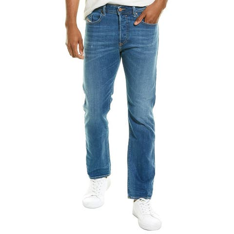 Diesel Buster Light Wash Regular Slim Tapered Leg Jean