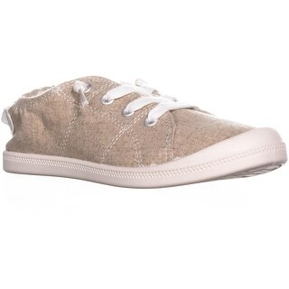MG35 Brooke Slip on Low Top Sneakers, Sand Canvas - 5.5 us